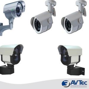3AVTec modelos de camera de segurançaTemplate